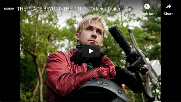 films with motorcycle riding | place beyond the pines