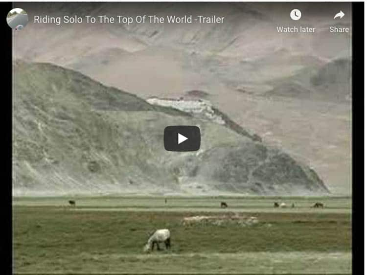 motorcycle documentary | riding solo at the end of the world