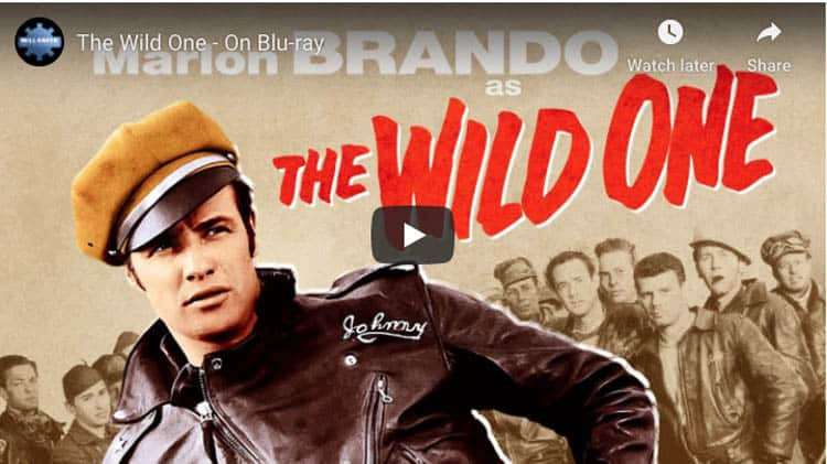 classic motorbike movies | the wild one