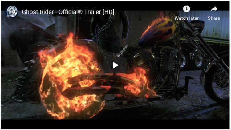 fun motorcycle movies | ghost rider