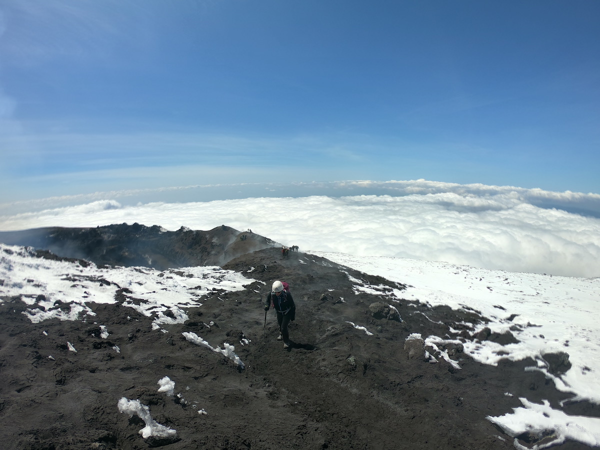 visiting mount etna | ascent above the clouds