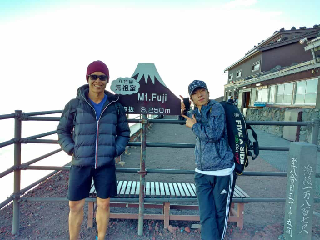 mt fuji tour 3250 metres