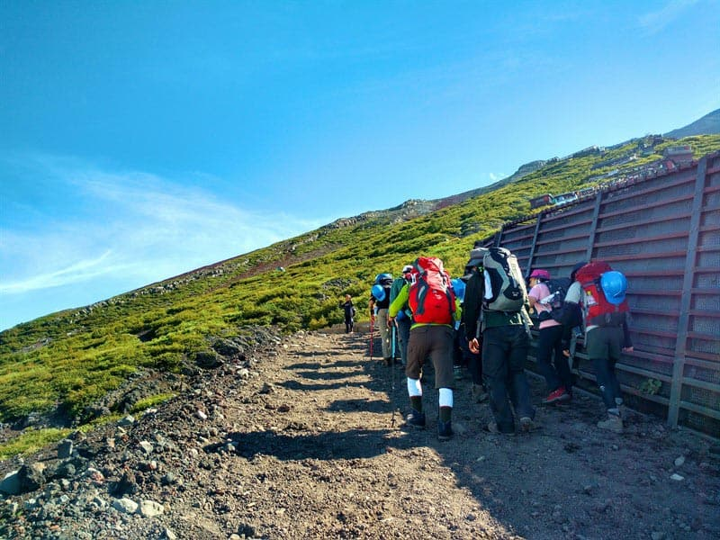 mount fuji trek the group
