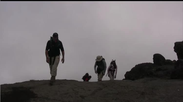 kilimanjaro trek | fog on the mountain