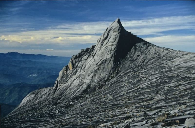 summit of mount kinabalu borneo