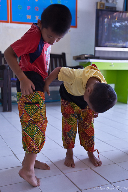 muay thai children