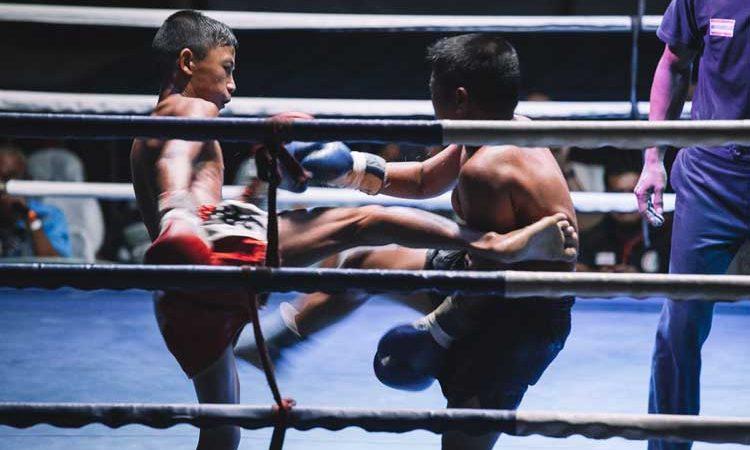 muay thai kickboxing thailand