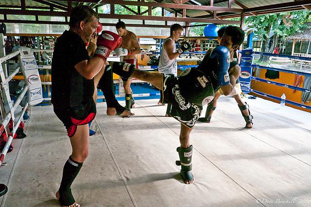 dave kickboxing