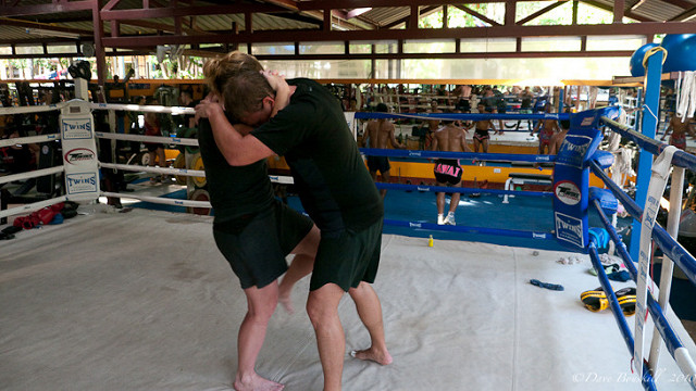 dave kickboxing class thailand