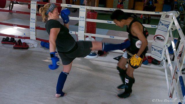 Hot and Sweaty at Rawai Muay Thai