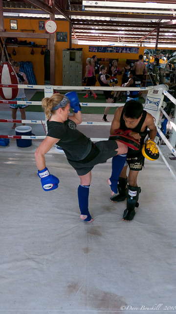 kickboxing thailand tourist