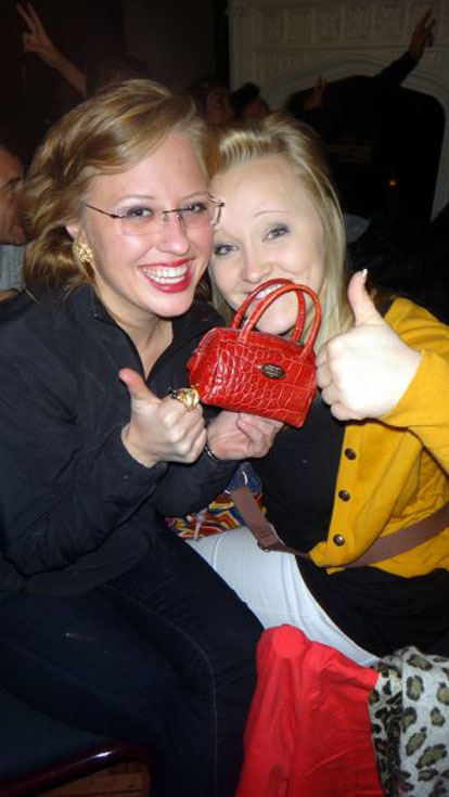 purse mugged