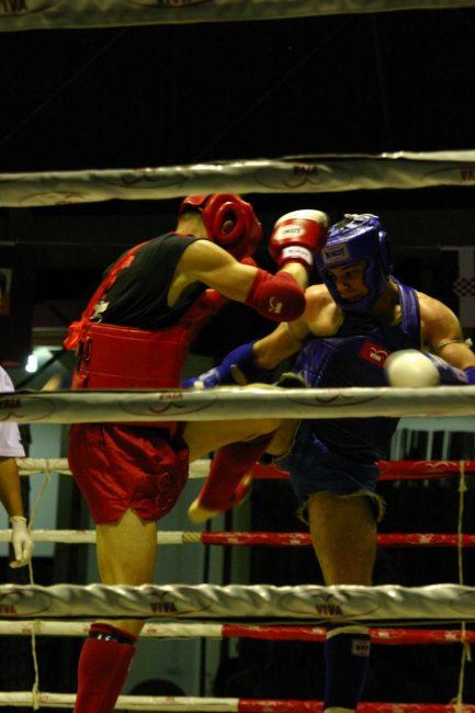 Mui Tai Kickboxers in Thailand