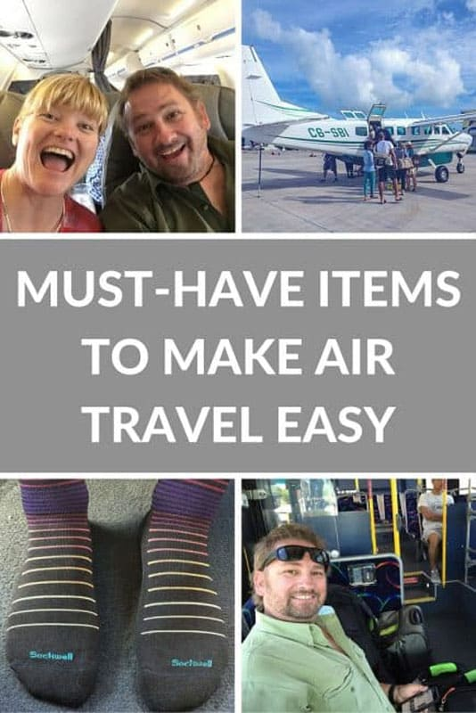must have items air travel