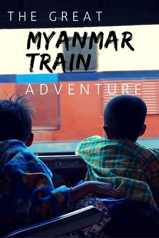 myanmar train travel pin