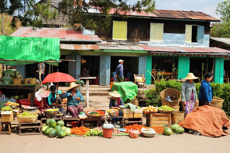 market train station