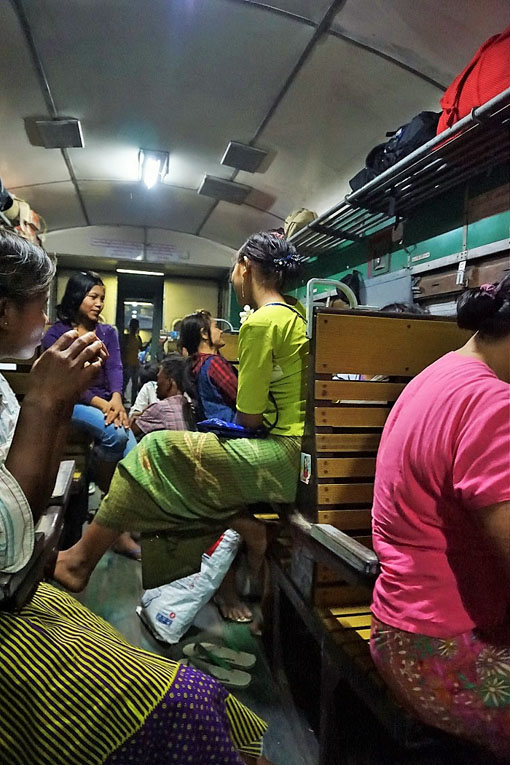 train ride myanmar