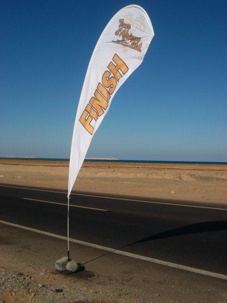 finish line tour d'afrique