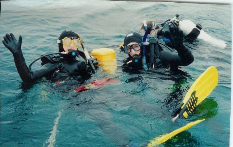 diving natural wonders