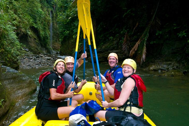 rafting on navua