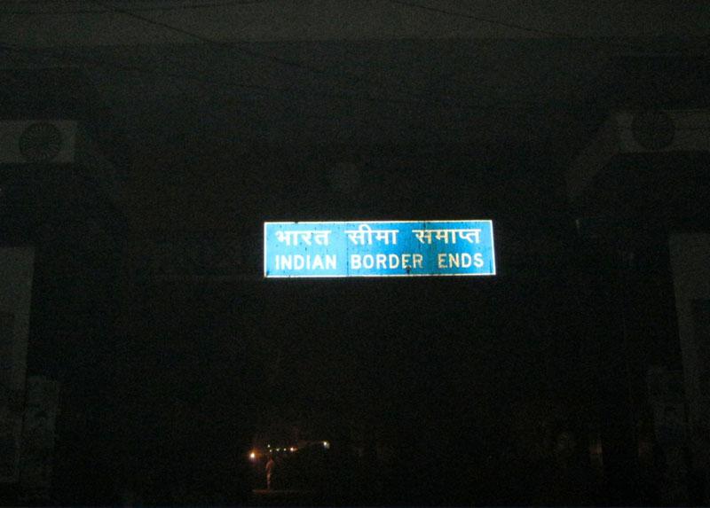 nepal from india border
