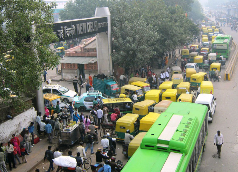 nepal from india traffic