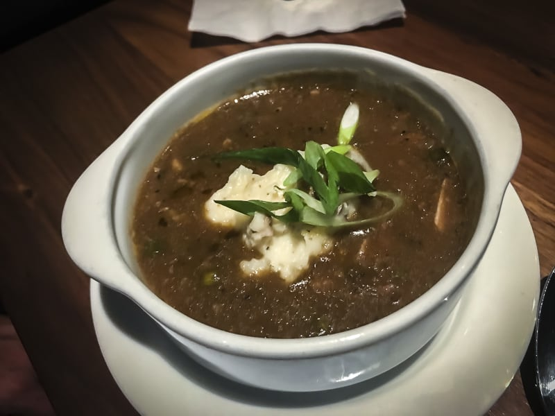 New Orleans Food Gumbo at Sobu