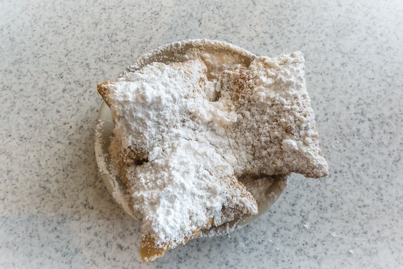 New Orleans food Beignets