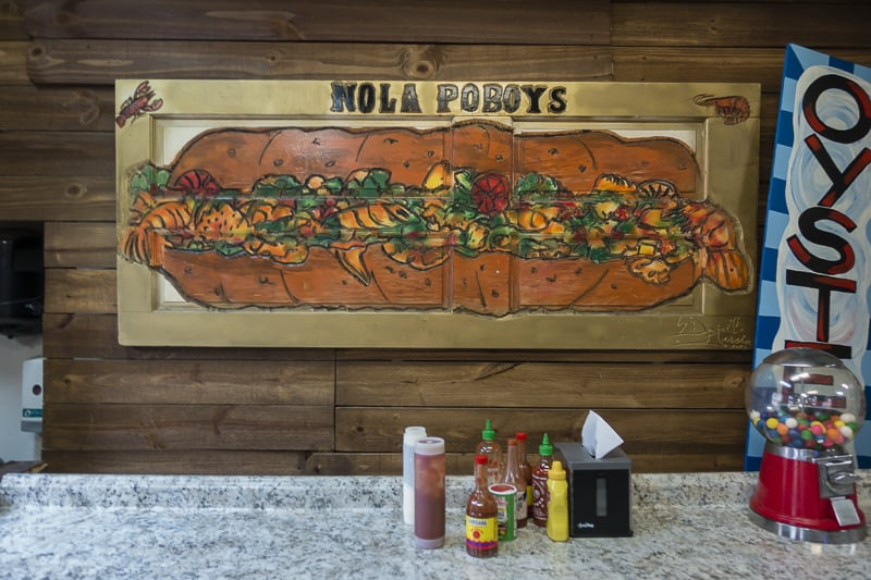 A New Orleans food staple is the Poboy
