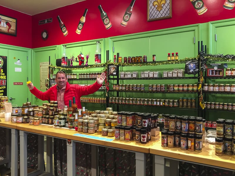 Hot sauce is at the root of New Orleans food.