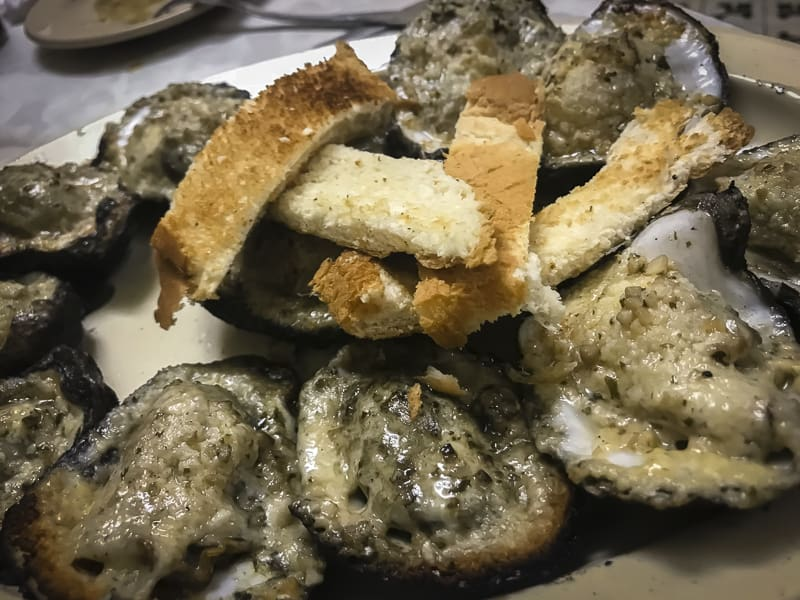New orleans food chargrilled oysters