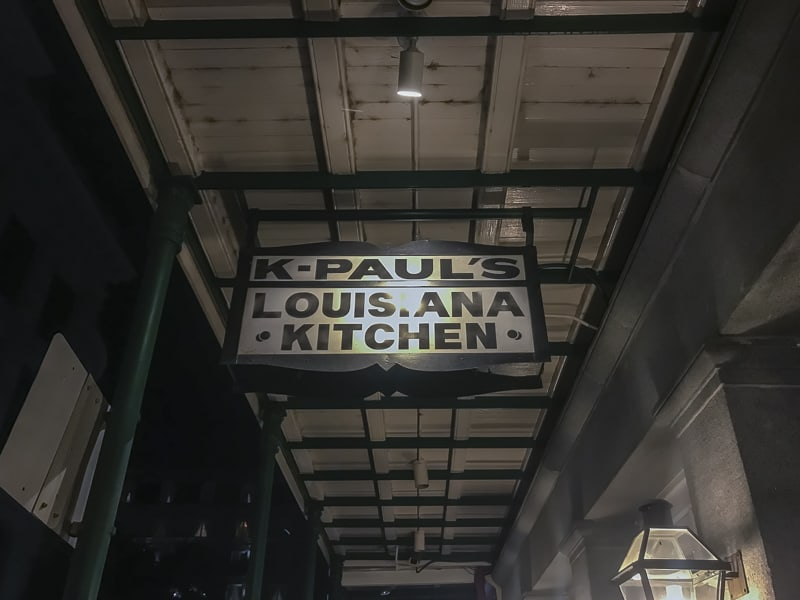 new orleans food K-Pauls Louisiana Kitchen