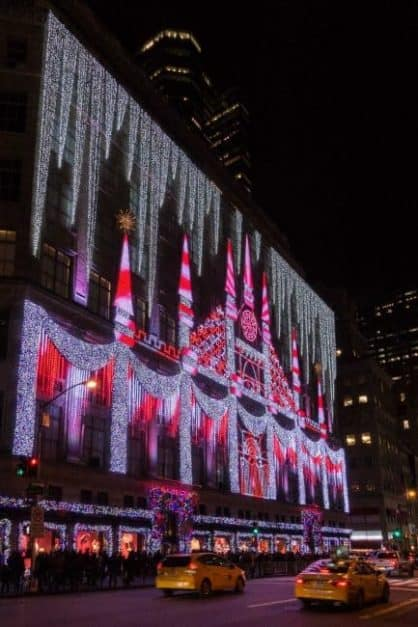 christmas shopping in new york | saks fifth avenue Christmas in New York