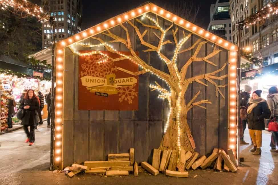 christmas markets in new york city