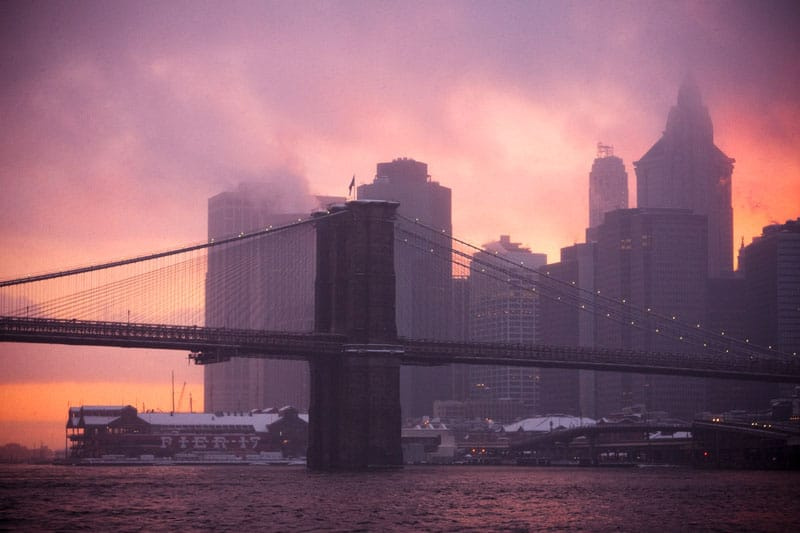 new york city photography sunrise