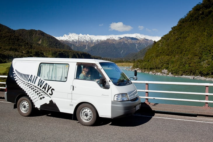 new zealand by campervan road trip