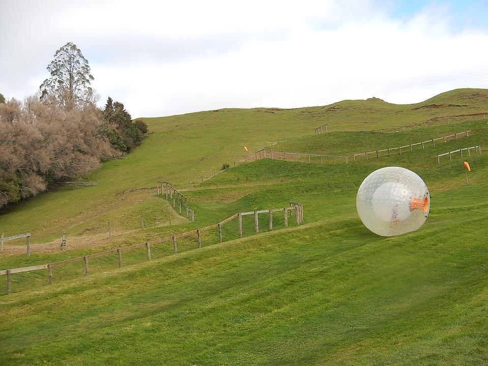 Zorbing New Zealand activities