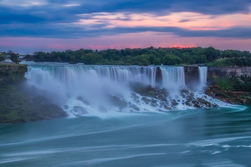 niagara falls road trip waterfall