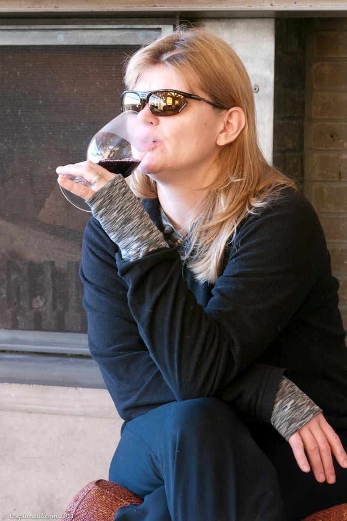 wine tasting deb