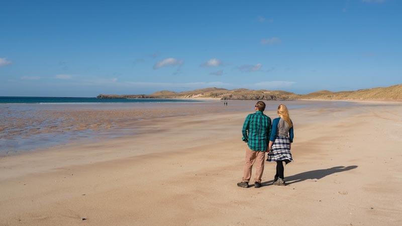 balnakiel beach scotland