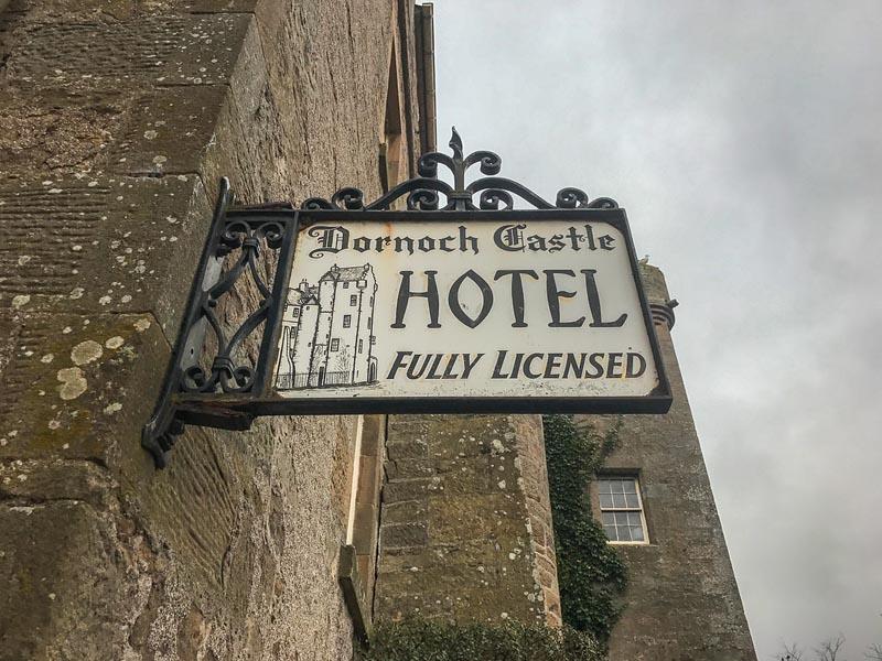 dornoch castle scotland