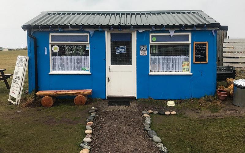 Flossies coffee shop northern scotland