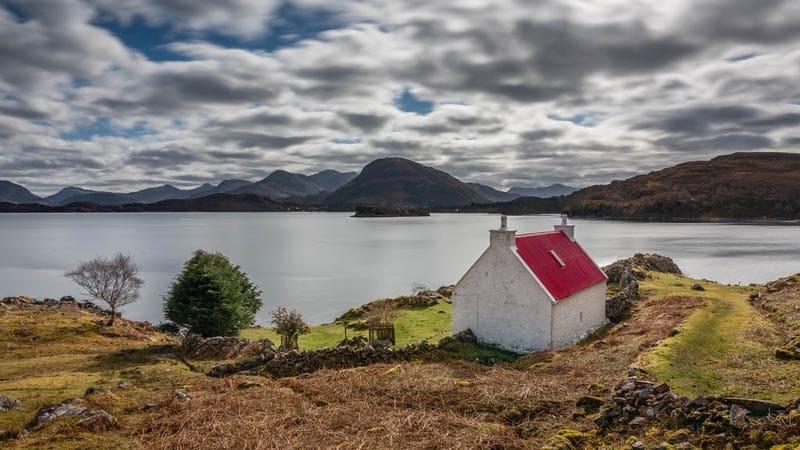 famous read farmhouse northern scotland
