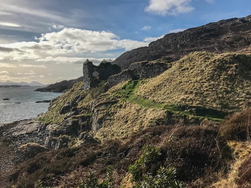 Strome Castle Scotland