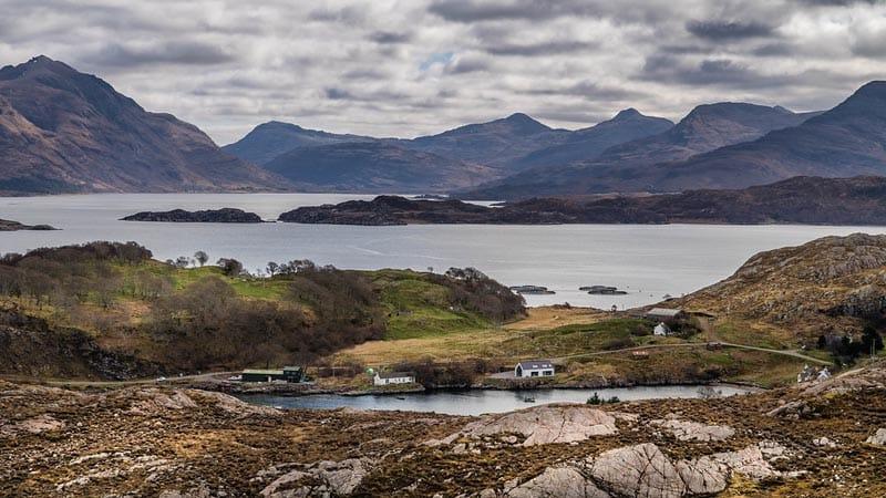 coastal view of northern scotland