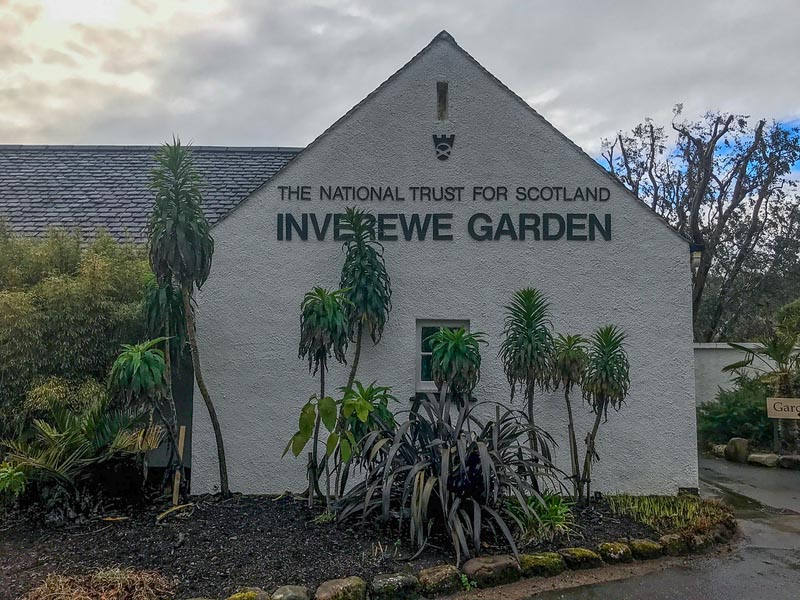 Inverewe Garden Scotland