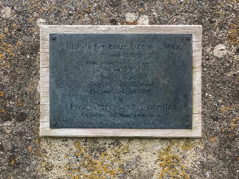 jimmy page plaque scotland