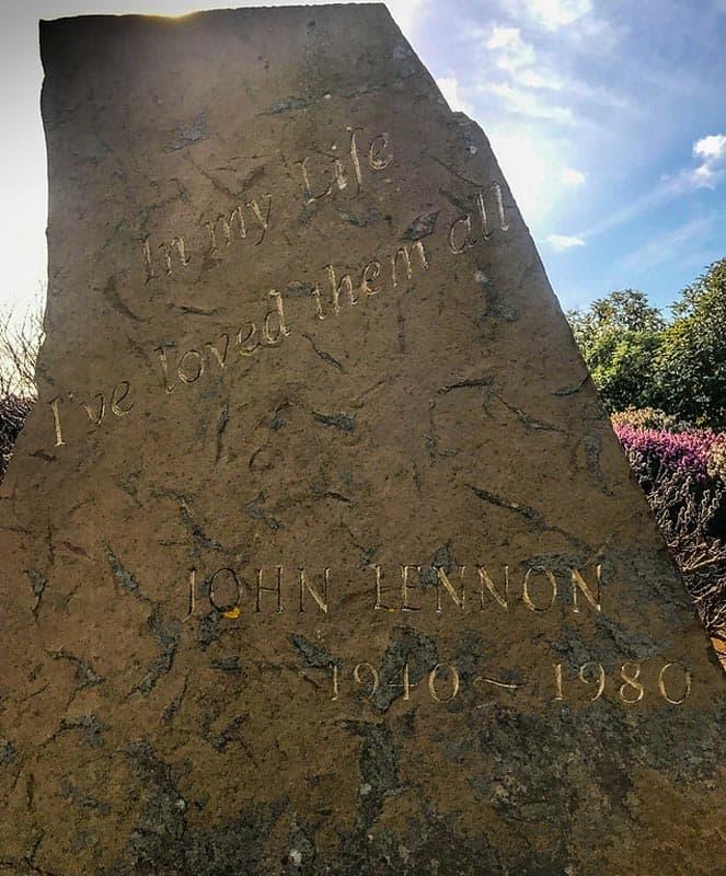 John Lennon memorial Durness Scotland