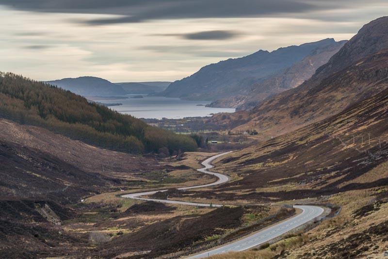 Klinlochewe Viewpoint Scotland