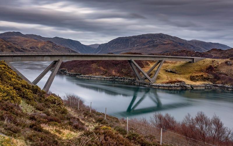 Kylesku Bridge Scotland